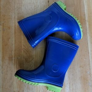 Toddler Boys Rain Boots size 8